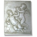 Musical Cherubs Wall Plaque