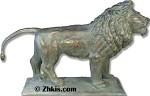 Large Entryway Lion Statue Right