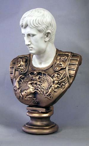 Bust Of Augustus Caesar