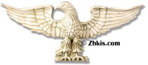 Large Eagle Wall Plaque