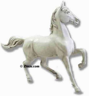 Trotting Horse Statue