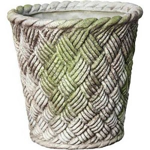 Woven Basket Planter Small