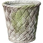 Woven Basket Planter Large