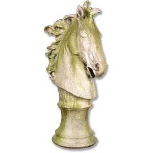 Large Horse Head Statue