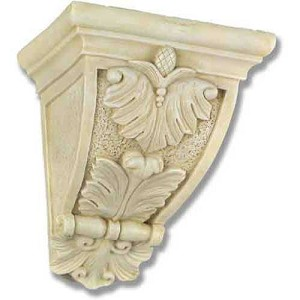 Scroll Leaf Wall Bracket