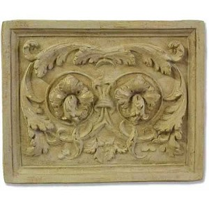 Acanthus Flower Wall Plaque