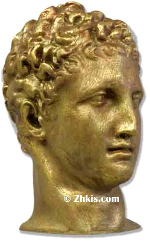 Greek Hermes Head