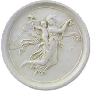 Angel of Day Wall Plaque (Large)