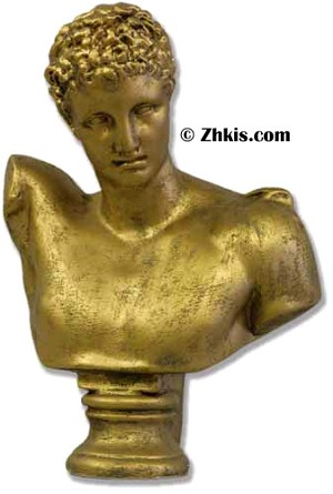 Greek Hermes Bust Small
