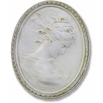 Lady Cameo Wall Plaque (Left)