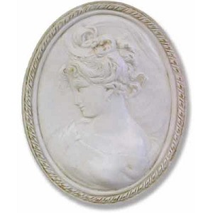 Lady Cameo Wall Plaque (Right)