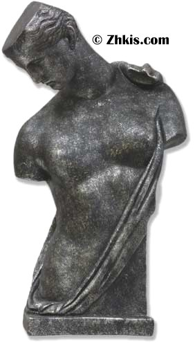 Contemporary Women's Torso Statue