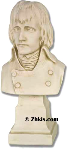Young Napoleon Statue Bust