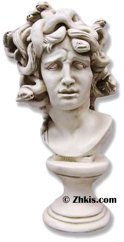 Medusa Greek Bust