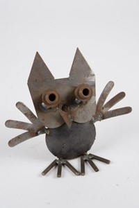 Small Owl Sculpture