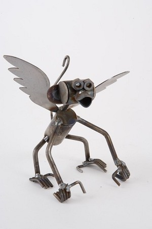 Small Flying Monkey Sculpture