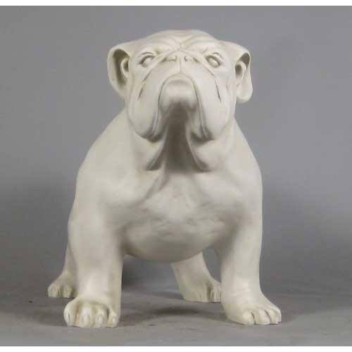 Unique Life Size Bulldog Statue ZO76